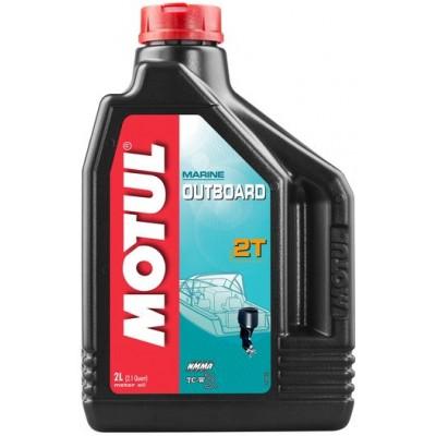 Масло для двотактних двигунів Motul Outboard 2T 2л