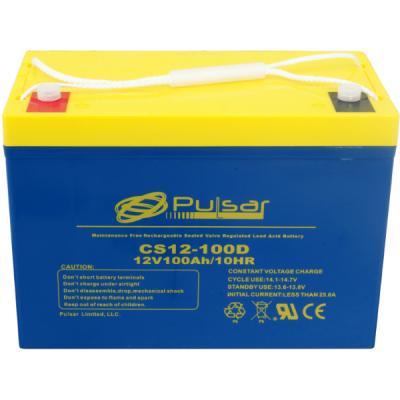 Аккумулятор Pulsar Deep Cycle AGM CS12-100D