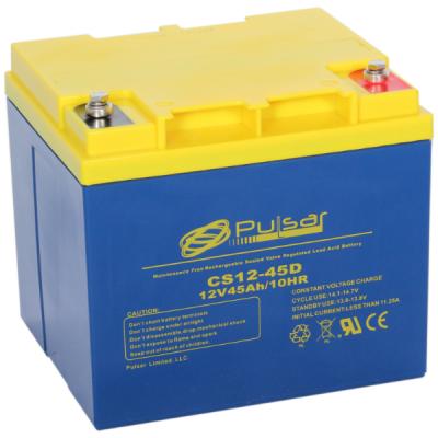Аккумулятор Pulsar Deep Cycle AGM CS12-45D