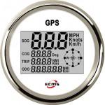 GPS спідометр мультиекран ECMS (білий / чорний)