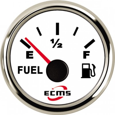 Датчик уровня топлива ECMS (белый/черный)