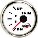Датчик трима ECMS (білий / чорний)