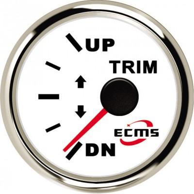 Датчик трима ECMS (белый/черный)