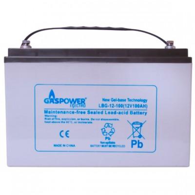 Акумулятор GASPOWER ELECTRO LBG-12-100A/H
