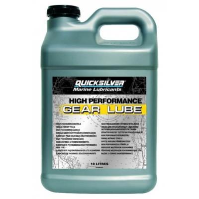 Трансмісійне масло Quicksilver High Performance Gear Lube (10л) SAE 90