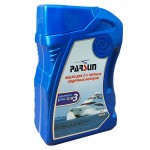Масло для човнових моторів 2-х тактне TC-W3 Parsun PREMIUM PLUS 1 ЛИТР NEW