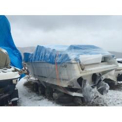 Как подготовить катер к зимнему хранению